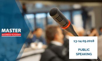 13-14.09.2018r. – Public Speaking – Wojciech Zatorski